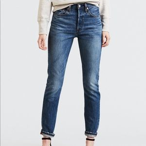 Levi's 501 Skinny Chill Pill Jeans